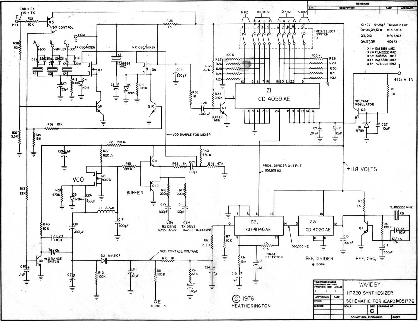 synthesizer diagram